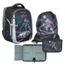 Рюкзак MagTaller Ünni Robot 41720-07 с наполнением 3 предмета.