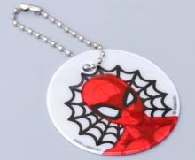 Светоотражающий брелок- подвеска MARVEL Человек-паук 2072.