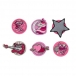 Ранец DerDieDas Ergoflex EXKLUSIV SWITCH PATCH Twinkle- Сверкающая звезда 8405128 с наполнением 5 предметов. .