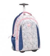 Рюкзак на колесах Belmil EASY GO ELEGANT FLOWER 338-45/02