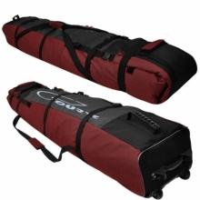 Чехол на колёсах для сноубордов и горных лыж Course 185-215 см гл053.215дкрас Дуэт красный.