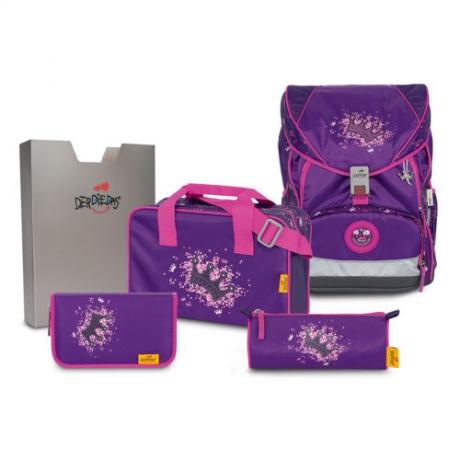 Ранец DerDieDas Ergoflex XL с наполнением Purple Princess - Фиолетовая корона 8406106.