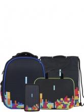 Школьный ранец Noble People с наполнением 4 предмета WT76/19SET.