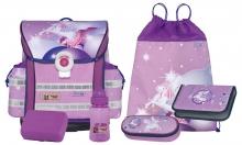 Школьный рюкзак  McNeill ERGO Light 912 pegasus berry - Единорог 4 предмета 9581112000.