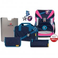 Ранец DerDieDas Ergoflex Buttons Blue Fairy - Ночная фея с наполнением 6 предметов 8405130.