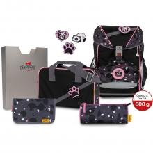 Ранец DerDieDas Ergoflex Buttons Pink Panda - Розовая панда с наполнением 6 предметов 8405132.