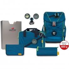 Ранец DerDieDas Ergoflex Buttons Ghost - Тень с наполнением 6 предметов 8405143.