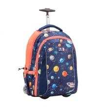 Рюкзак на колесах Belmil EASY GO 338-45/09 PLANETS - Планеты.