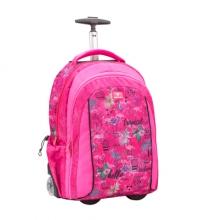 Рюкзак на колесах Belmil EASY GO 338-45/05 TROPICAL FLAMINGO - Тропический фламинго.