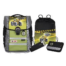 Школьный рюкзак McNeill ERGO PRIMERO Bulldozer- Бульдозер 4 предмета 9634206000.
