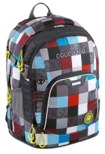 Рюкзак Coocazoo Ray Day Checkmate Blue Red 00139270.