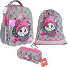 Рюкзак MagTaller Be-Cool Fashion Kitty 41019-50 с наполнением 3 предмета.