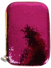 Пенал для девочки Multibrand розовый 018-pink.