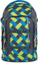 Рюкзак школьный ERGOBAG Satch Pack Chaka Curbs с анатомической спинкой SAT-SIN-001-9D4